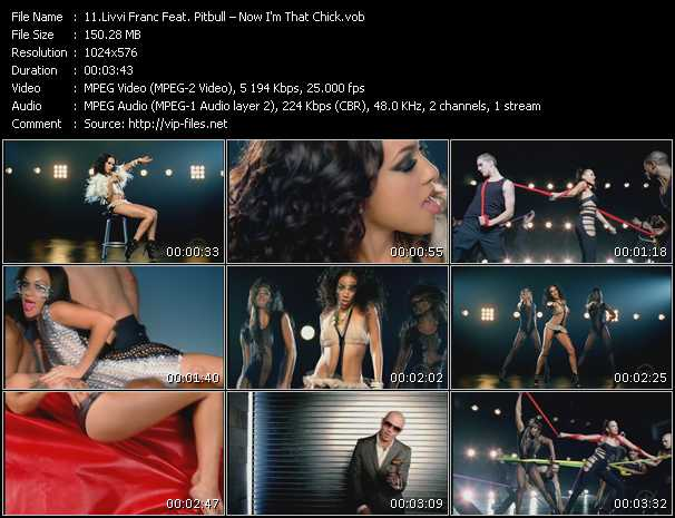 Livvi Franc Feat. Pitbull Video Clip(VOB) vob