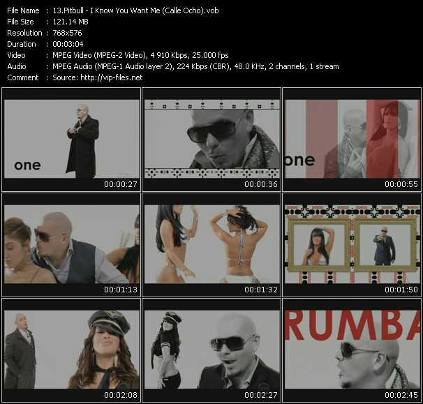 Pitbull Video Clip(VOB) vob