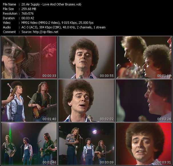 Air Supply Video Clip(VOB) vob