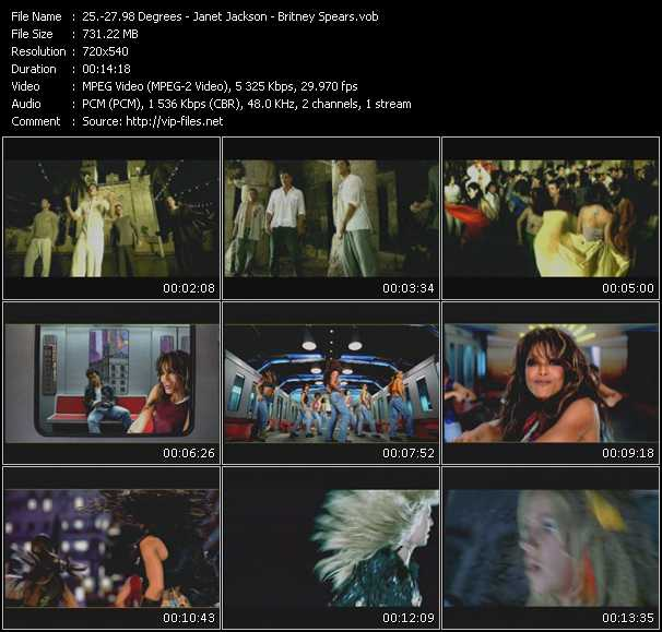 98 Degrees - Janet Jackson - Britney Spears Video Clip(VOB) vob