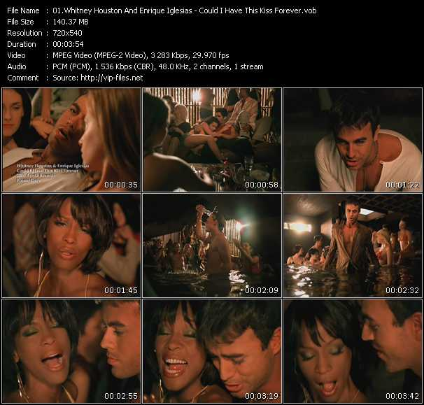 Whitney Houston And Enrique Iglesias Video Clip(VOB) vob