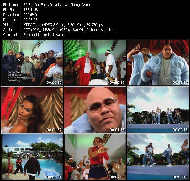 Fat Joe Feat. R. Kelly Video Clip(VOB) vob