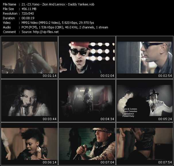 Yomo - Zion And Lennox - Daddy Yankee Video Clip(VOB) vob