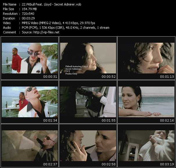 Pitbull Feat. Lloyd Video Clip(VOB) vob