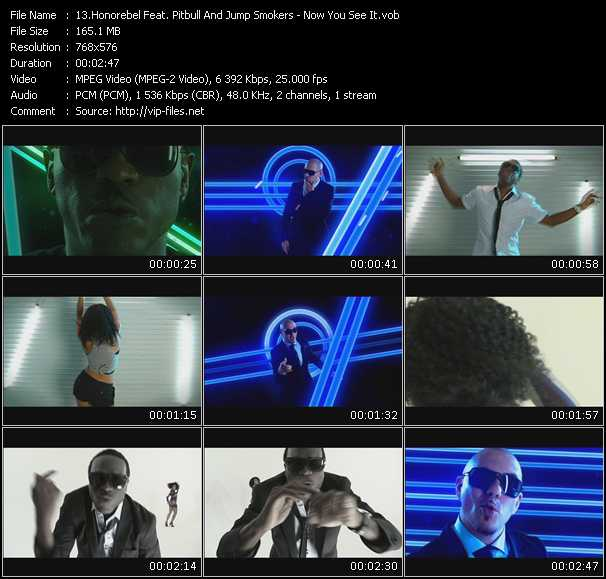 Honorebel Feat. Pitbull And Jump Smokers Video Clip(VOB) vob