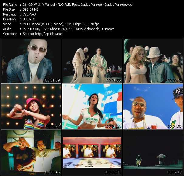 Wisin And Yandel - N.O.R.E. Feat. Daddy Yankee, Nina Sky, Gem Star And Big Mato - Daddy Yankee Video Clip(VOB) vob