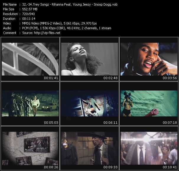 Trey Songz - Rihanna Feat. Young Jeezy - Snoop Dogg Video Clip(VOB) vob