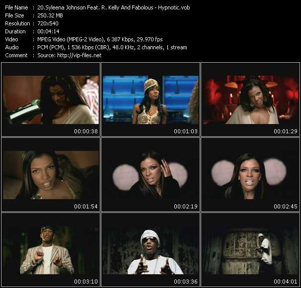 Syleena Johnson Feat. R. Kelly And Fabolous Video Clip(VOB) vob