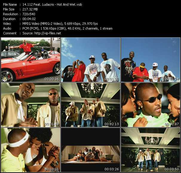 112 Feat. Ludacris Video Clip(VOB) vob