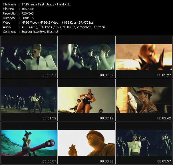 Rihanna Feat. Jeezy Video Clip(VOB) vob