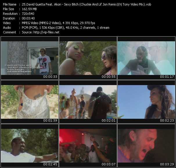 David Guetta Feat. Akon Video Clip(VOB) vob