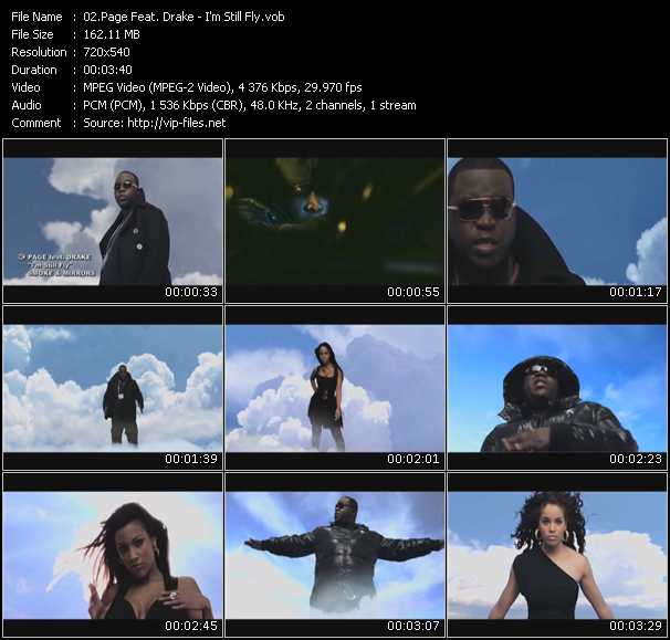 Page Feat. Drake Video Clip(VOB) vob