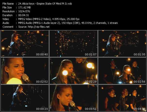Alicia Keys Video Clip(VOB) vob