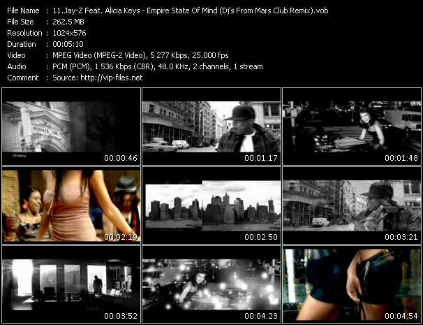 Jay-Z Feat. Alicia Keys Video Clip(VOB) vob