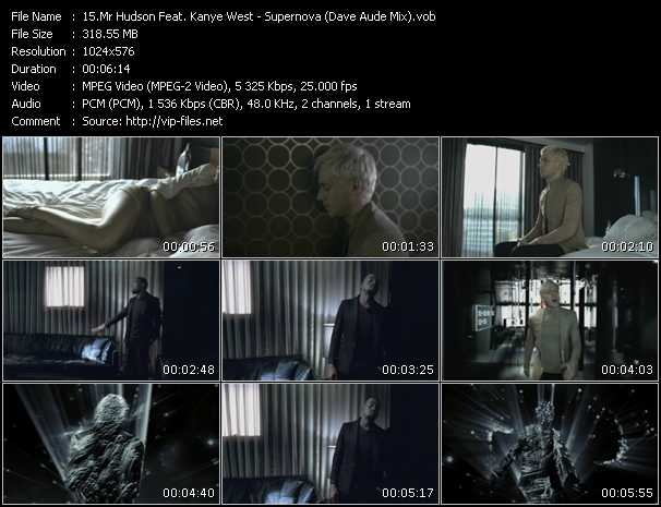 Mr. Hudson Feat. Kanye West Video Clip(VOB) vob