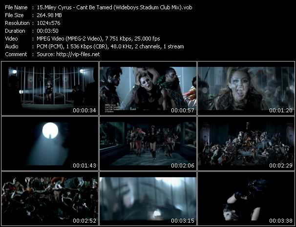 Miley Cyrus Video Clip(VOB) vob