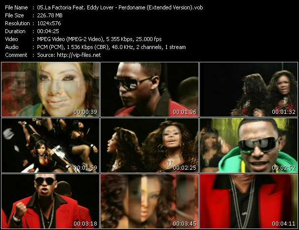 La Factoria Feat. Eddy Lover Video Clip(VOB) vob