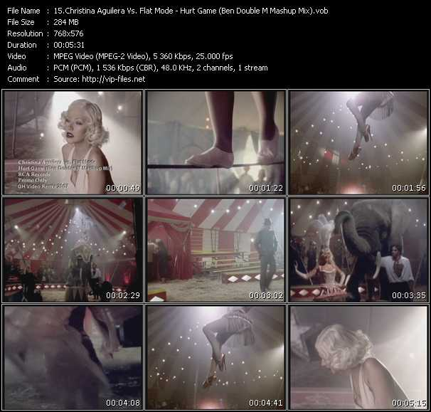 Christina Aguilera Vs. Flat Mode Video Clip(VOB) vob