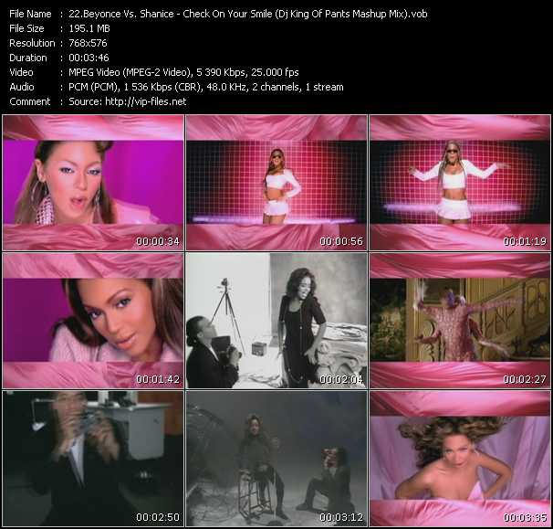 Beyonce Vs. Shanice Video Clip(VOB) vob
