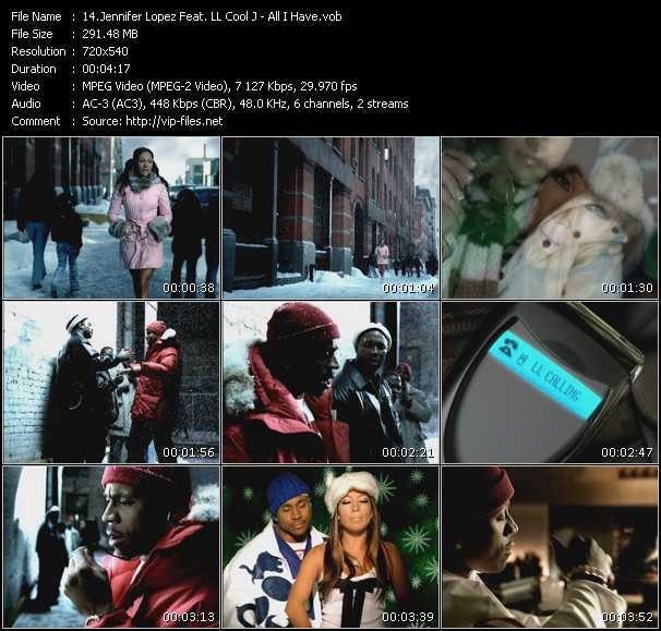 Jennifer Lopez Feat. Ll Cool J Video Clip(VOB) vob