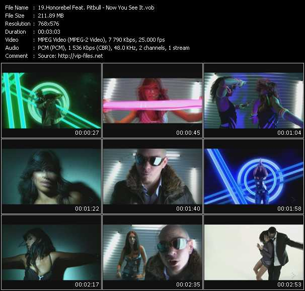 Honorebel Feat. Pitbull Video Clip(VOB) vob
