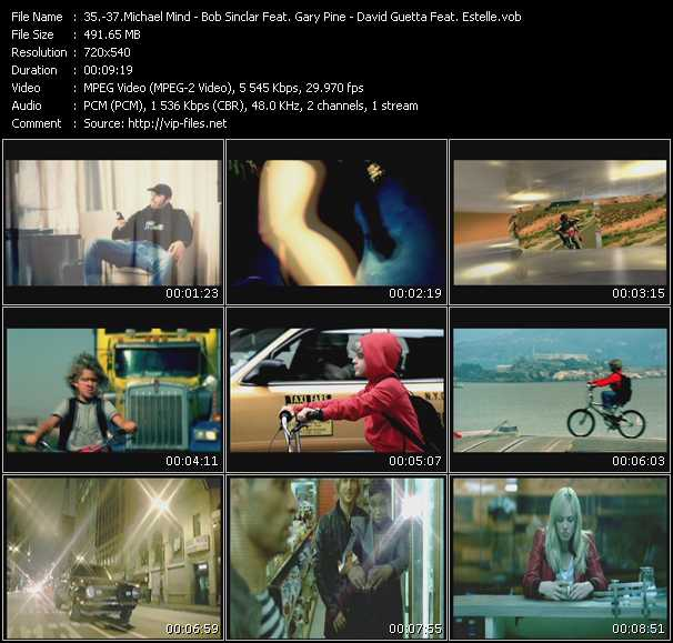Michael Mind - Bob Sinclar Feat. Gary Pine - David Guetta Feat. Estelle Video Clip(VOB) vob
