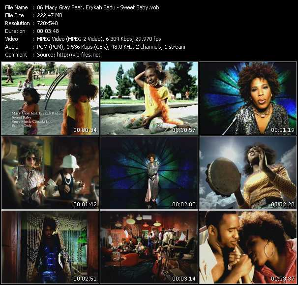 Macy Gray Feat. Erykah Badu Video Clip(VOB) vob