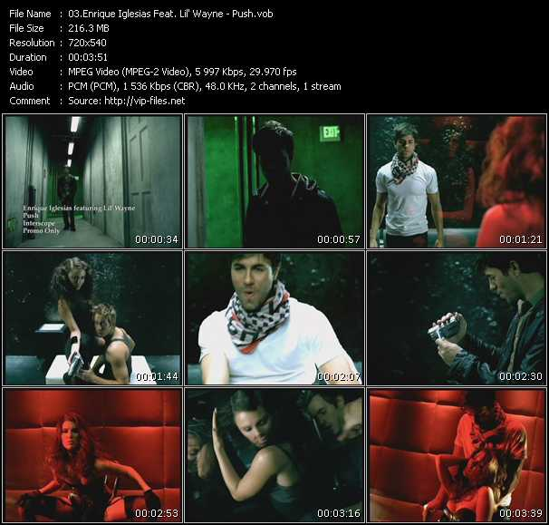 Enrique Iglesias Feat. Lil' Wayne Video Clip(VOB) vob