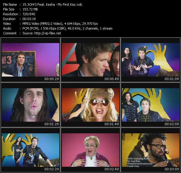 3oh!3 Feat. Kesha Video Clip(VOB) vob