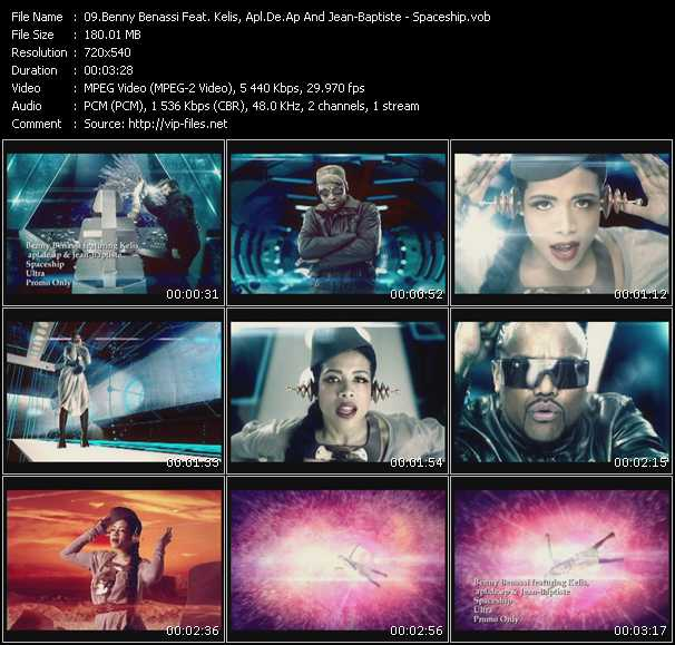 Benny Benassi Feat. Kelis, Apl.De.Ap And Jean-Baptiste Video Clip(VOB) vob