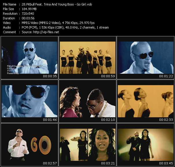 Pitbull Feat. Trina And Young Boss Video Clip(VOB) vob