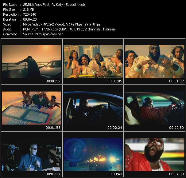 Rick Ross Feat. R. Kelly Video Clip(VOB) vob