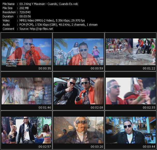 J-King And Maximan Video Clip(VOB) vob