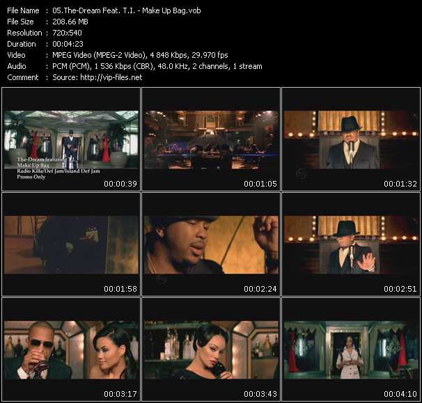 The-Dream Feat. T.I. Video Clip(VOB) vob