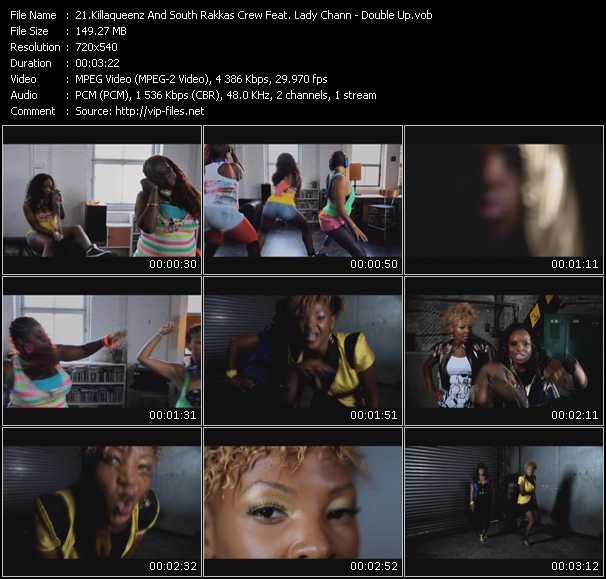Killaqueenz And South Rakkas Crew Feat. Lady Chann Video Clip(VOB) vob