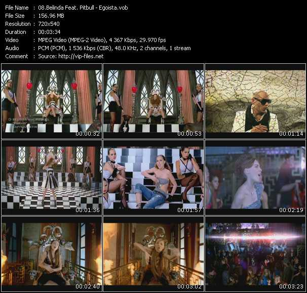 Belinda Feat. Pitbull Video Clip(VOB) vob