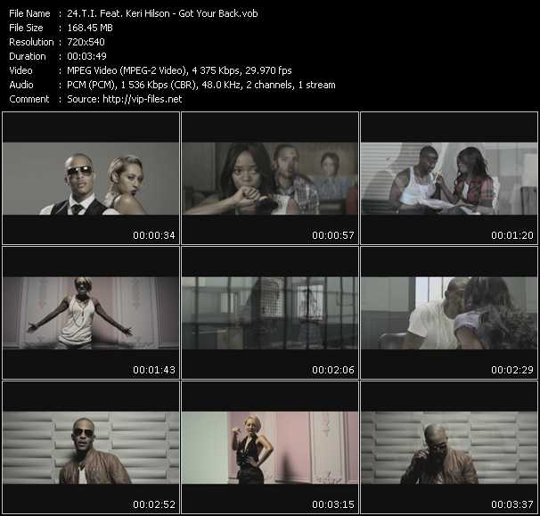 T.I. Feat. Keri Hilson Video Clip(VOB) vob