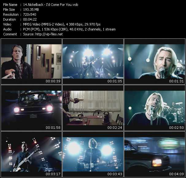 Nickelback Video Clip(VOB) vob