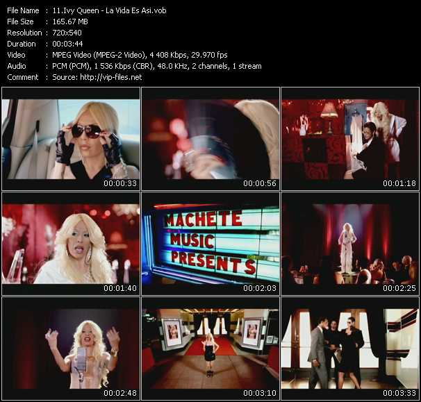 Ivy Queen Video Clip(VOB) vob