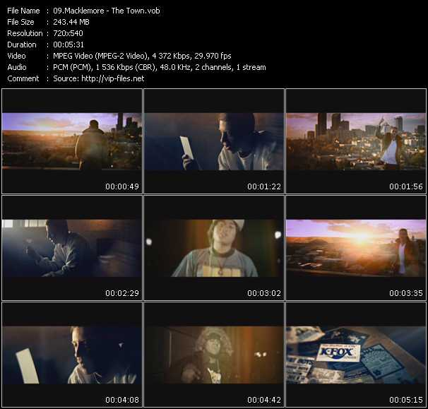 Macklemore Video Clip(VOB) vob