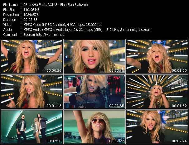 KesHa Feat. 3Oh!3 Video Clip(VOB) vob