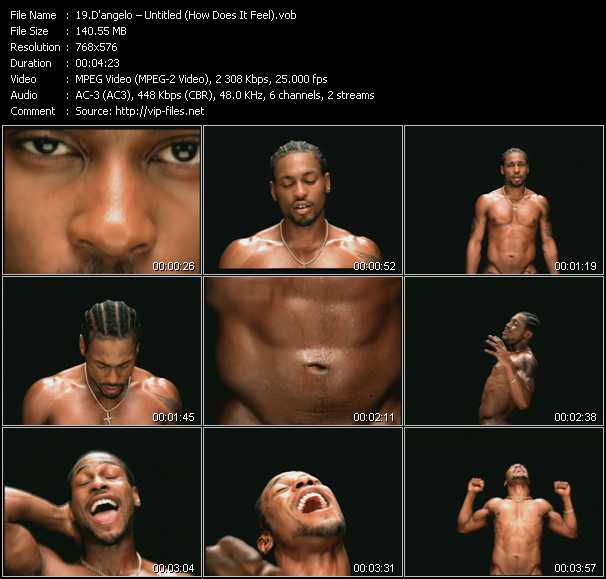 D'Angelo Video Clip(VOB) vob