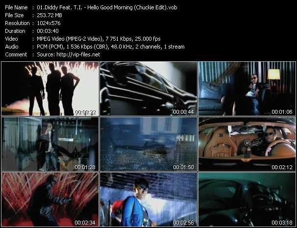 P. Diddy (Puff Daddy) Feat. T.I. Video Clip(VOB) vob