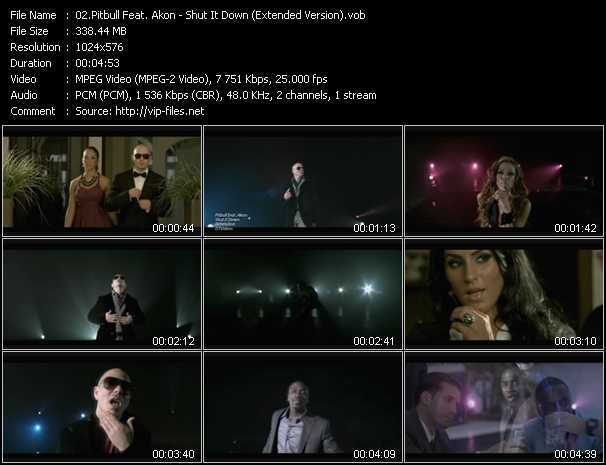 Pitbull Feat. Akon Video Clip(VOB) vob