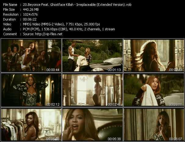 Beyonce Feat. Ghostface Killah Video Clip(VOB) vob