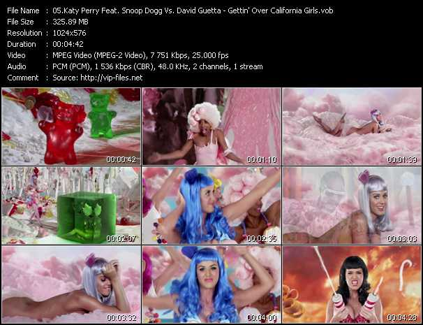 Katy Perry Feat. Snoop Dogg Vs. David Guetta Video Clip(VOB) vob
