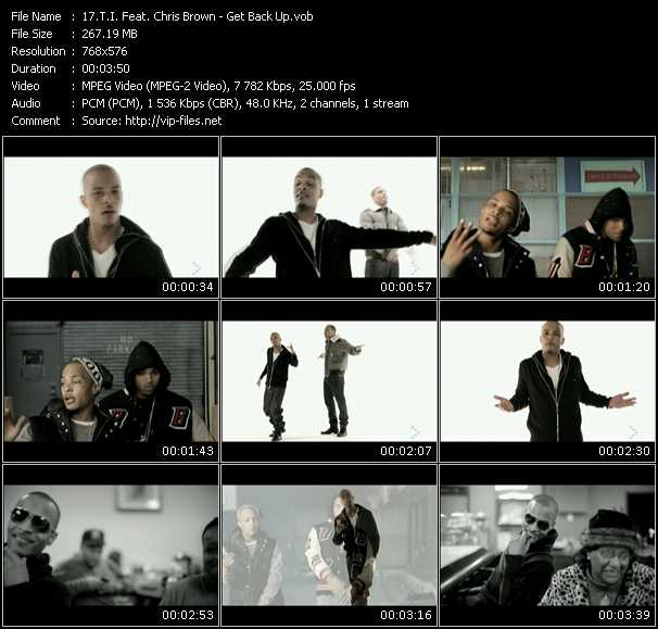 T.I. Feat. Chris Brown Video Clip(VOB) vob