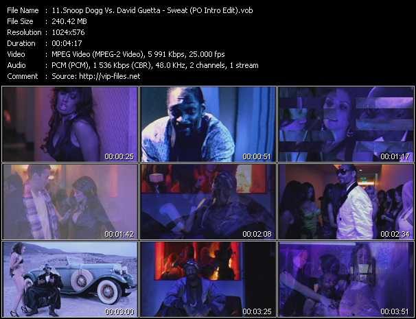 Snoop Dogg Vs. David Guetta Video Clip(VOB) vob