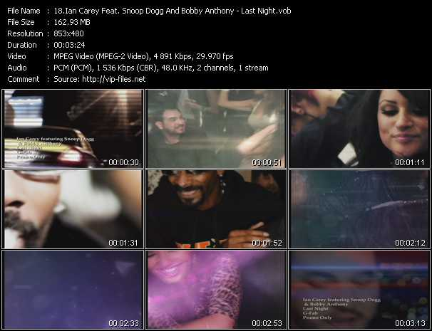 Ian Carey Feat. Snoop Dogg And Bobby Anthony Video Clip(VOB) vob