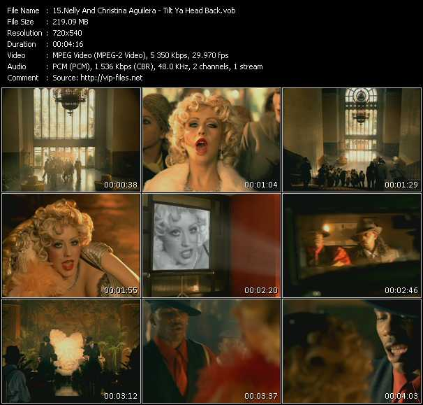 Nelly And Christina Aguilera Video Clip(VOB) vob